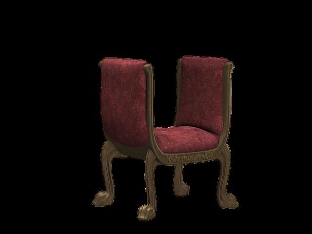 starožitná stolička