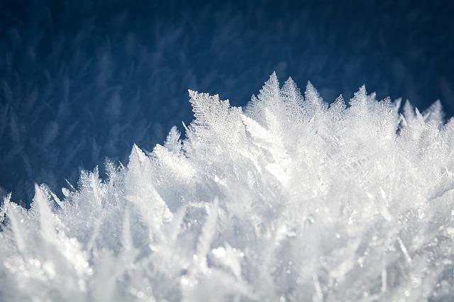 listy z ledu