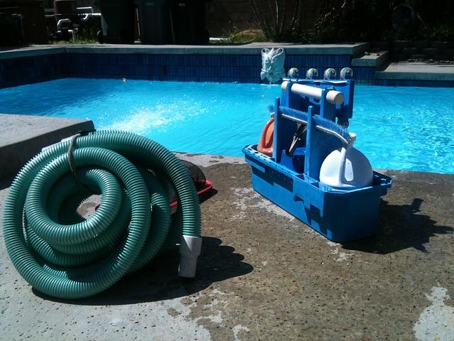 Hadice k bazénové filtraci a další součásti filtračního zařízení
