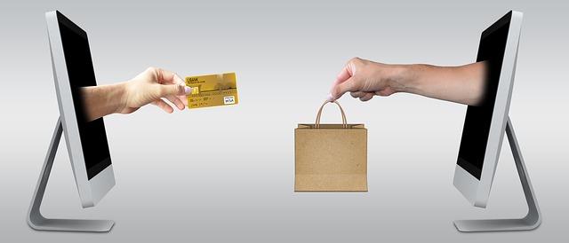 nákup a platba kartou