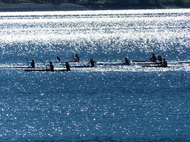 vodáci na vodě